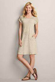 Tee Shirt Dress-Stripe