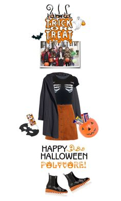"""""""Trick or Treat..Give Me Something Good to Eat"""" by shortyluv718 ❤ liked on Polyvore featuring H&M, Casetify, General Foam, STELLA McCARTNEY and Halloween"""