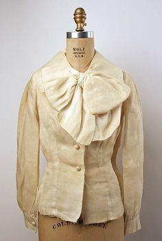 Blouse  Arnold Scaasi (American, born Canada, 1931)  Date: 1963 Culture: American Medium: silk