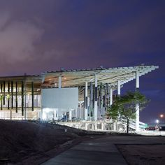 """Here's a preview of the nearly completed Pérez Art Museum Miami by Swiss architects Herzog & de Meuron, which opens tomorrow to coincide with the Design Miami and Art Basel Miami Beach collectors' fairs, and which suggests a new """"kind of vernacular"""" for the city according to Jacques Herzog."""