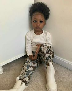 Black Baby Girls, Cute Black Babies, Beautiful Black Babies, Cute Little Baby, Pretty Baby, Cute Baby Girl, Beautiful Children, Cute Babies, Baby Kids