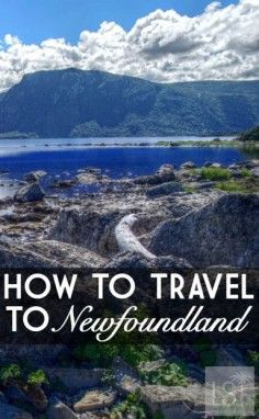 How to travel to Newfoundland | Pic: Emmanual Milou
