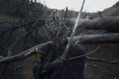 "darkbeautymag: "" ""The Forest"" — Photographer/Mask/Model: Kavan Cardoza - Kavan the Kid """