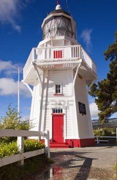 Akaroa Head Light Akaroa Canterbury region of the South Island New Zealand -43.812458, 172.955945 ^