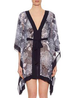 16c366ad88 Diane Von Furstenberg Maldives kimono Maldives