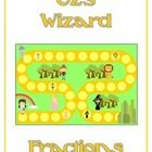 Oz's Wizard (Wizard of Oz) Math Folder Game - Fractions   This file is for one math file folder game. All you really need besides this file  is a m...