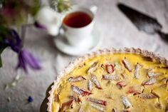 Francouzský rebarborový koláč