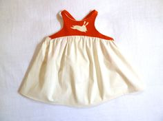 Bunny Swing Top with High Neck and Cross Back Straps by HarrietsHaberdashery
