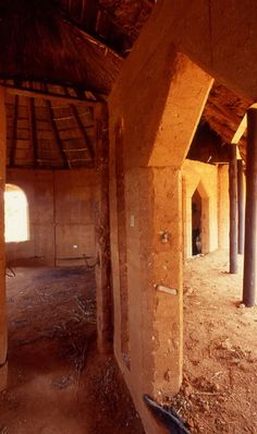 Rammed earth house, Bonda, Zimbabwe