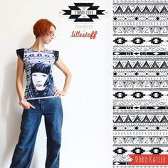 """""""Ethno Love"""" Stoffdesign Doro Kaiser; """"Ethno Love"""" fabric designed by Doro Kaiser #lillestoff #fabricdesign #patterndesign #ethno #love"""