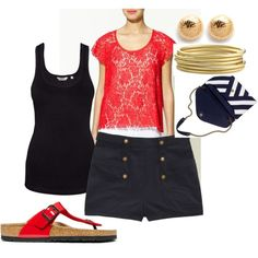 Summer Chic, created by middaymoon on Polyvore