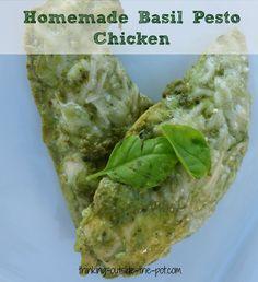 Homemade Basil Pesto