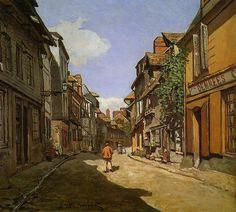 Rue de la Bavole, Honfleur  Claude Monet !!