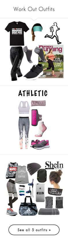 """""""Work Out Outfits"""" by wolfschaffer ❤ liked on Polyvore featuring workout, athletic, gym, X-Bionic, Zella, simple, black, running, Ted Baker and The North Face"""