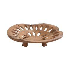 When your aesthetic is rustic but refined, finding the perfect accent piece is vitally important. The Pierced Decorative Plate in Teak is just the right look for a relaxed but elegant space. Made from ...  Find the Pierced Decorative Plate in Teak, as seen in the Simply Organic Style Collection at http://dotandbo.com/collections/simply-organic-style?utm_source=pinterest&utm_medium=organic&db_sku=110602