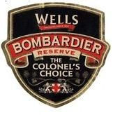 WELLS & YOUNG'S BREWING COMPANY'S BOMBARDIER RESERVE - a special version of the Bombardier bitter brewed with more hops. It's malt dominated with some characteristic English yeast and faint banana aromas. 6% ABV,