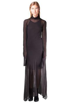 Keta Gutmane - Transparent turtleneck dress // AW15 // Shop at Sprmrkt Amsterdam
