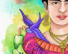 Ilustración I - Frida Kahlo on Behance