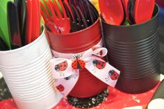 randomosity: A Very Ladybug Girl First Birthday Party---madisons party is gonna be ladybug!!!!!