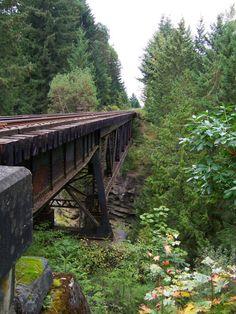 Nanaimo River Bridge, Vancouver Island