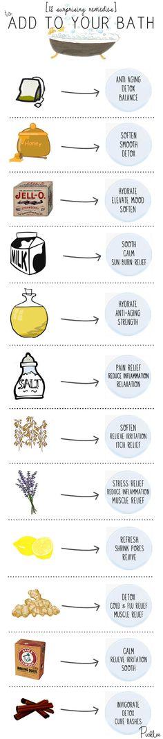 #diy #bath #remedies