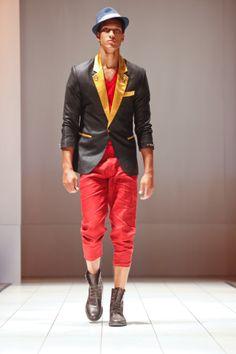 Jo Black Craze @Africa Fashion 2011 #fashion #africanfashion #pr #luxury #africafashionweek #newyork #ny #menswear #streetstyle #blazers in #ny
