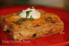 King Ranch Casserole - This stuff is awesome!