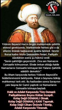 #OsmanlıDevleti #Bursa #YıldırımBeyazid #Camii #Namaz #Cemaat #Kadı #Mahkeme #ŞahitliğiKabulEdilmeyenPadişah