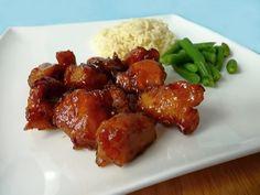 kuře na sladkokyselo No Salt Recipes, Top Recipes, Chicken Recipes, Czech Recipes, Ethnic Recipes, Easy Cooking, Cooking Recipes, China Food, Good Food