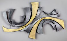 Maverick Metal Wall Art - Abstract Metal Art