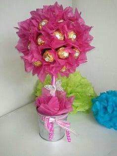 Candy Tree Ferrero Rocher B 228 Umchen Candybar Rocher Baum Ferrero Rocher Und Ferrero