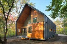 Arquitectura doméstica sustentable. Casa Matchbox - Leed Platinum