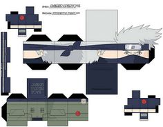Another Cool Naruto Papercraft Anime Crafts, 3d Paper Crafts, Paper Toys, Naruto Kakashi, Origami Naruto, Naruto Party Ideas, Figurine Anime, Naruto Birthday, Paper Doll Template