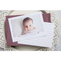 This Simply Splendid collection of card is the perfect opportunity to display to the world the little bundle of joy. With delicate botanicals, your images are perfectly showcased. Newborn Birth Announcements, Baby Announcement Cards, Baby Design, Delicate, Joy, Elegant, Frame, Kids, Clothes