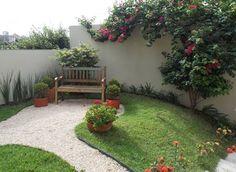 Como ter um belo jardim com pouco espaço (De Sirlene Sales)