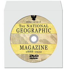 NATIONAL GEOGRAPHIC Vintage Magazines 1888-1922 Complete pdf on DVD-Rom Geography, Vintage Photography, Nature Photography by PhoenixEbooksUK on Etsy