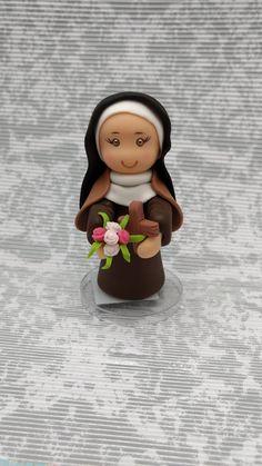 Resultado de imagen para santa teresita en porcelana fria