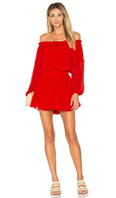 Shop for MISA Los Angeles Daria Dress in Ruby at REVOLVE. Free 2-3 day shipping and returns, 30 day price match guarantee.