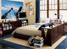Ideas Boys Room Basketball | Basketball Bedroom Ideas For Teen Boys