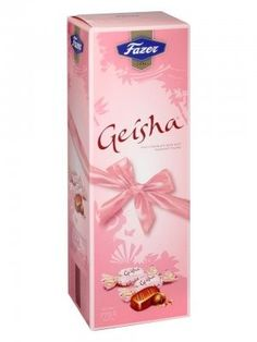 Karl Fazer Geisha w/soft hazelnut filling 775g, ca. 7.5 g/pc = 103 pcs. 109,-