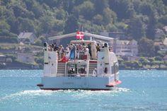 Il existe plusieurs croisieres sur le lac d'Annecy qui vous permettent de vous deplacer d'une rive à l'autre du lac. Excursion, Fair Grounds, Travel, Lake Annecy, Ships, Other, Viajes, Destinations, Traveling