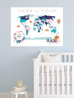 Nursery Map Idea