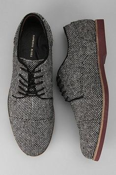 Hawkings McGill wool oxford shoes