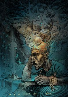Rakim by Dan Lish Part of the Ego Strip series http://danlishartworks.bigcartel.com/