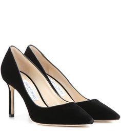 JIMMY CHOO LOGAN 85 Black Velvet and Champagne Mirror Leather Pointy Toe  Pumps. #jimmychoo #shoes #s | Jimmy Choo | Pinterest | Black velvet, ...