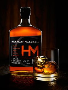 Herman Marshall Bourbon Whiskey | #whiskey #bottledesign #packaging