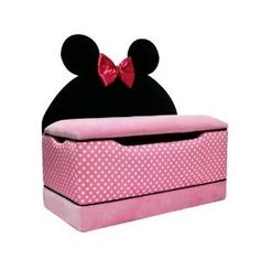 minnie mouse toy trunk