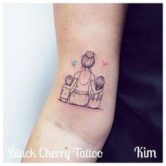 Meine Tatto-Ideen diy tattoo - diy tattoo images - diy tattoo i Diy Tattoo, Tattoo Kind, Tattoo Mama, Mommy Tattoos, Tattoo For Son, Baby Tattoos, Tattoos For Kids, Family Tattoos, Tattoos For Daughters