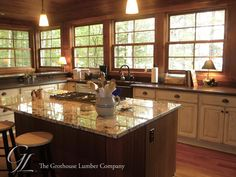 Featured project of the week, Sapele Mahogany Wood Countertops designed by Cooper Designs #woodcountertops #rustic http://www.glumber.com/image-library/custom-sapele-mahogany-wood-countertops-plover-wisconsin/