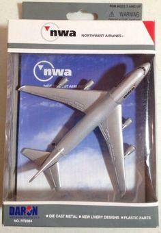 NWA, Northwest Airlines, Daron Boeing 747-400